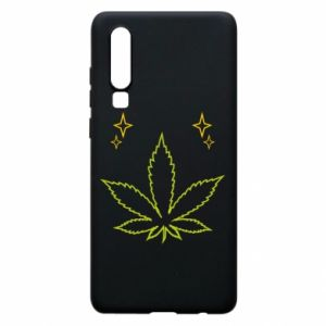 Etui na Huawei P30 Cannabis