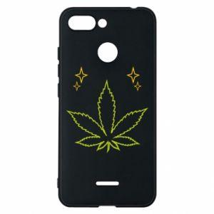 Etui na Xiaomi Redmi 6 Cannabis