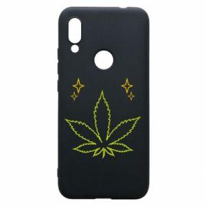 Etui na Xiaomi Redmi 7 Cannabis