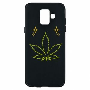 Etui na Samsung A6 2018 Cannabis