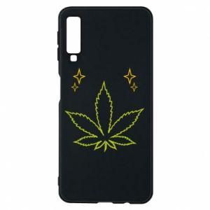 Etui na Samsung A7 2018 Cannabis