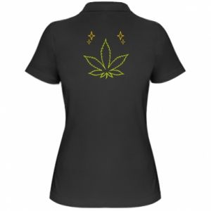 Damska koszulka polo Cannabis