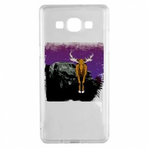Etui na Samsung A5 2015 Car crashed into a moose