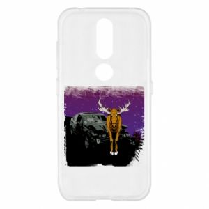 Etui na Nokia 4.2 Car crashed into a moose