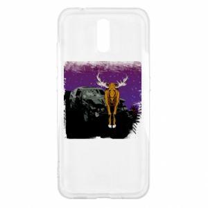 Etui na Nokia 2.3 Car crashed into a moose