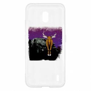 Etui na Nokia 2.2 Car crashed into a moose