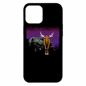 Etui na iPhone 12 Pro Max Car crashed into a moose