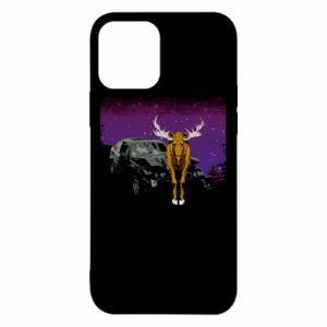 Etui na iPhone 12/12 Pro Car crashed into a moose