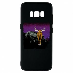 Etui na Samsung S8 Car crashed into a moose