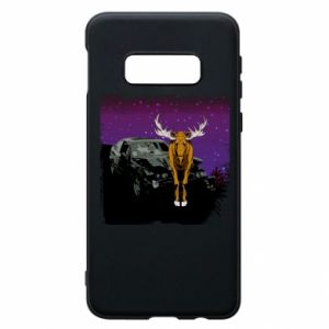 Etui na Samsung S10e Car crashed into a moose