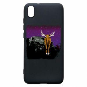 Etui na Xiaomi Redmi 7A Car crashed into a moose