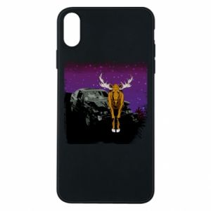 Etui na iPhone Xs Max Car crashed into a moose
