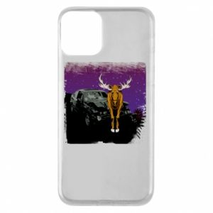 Etui na iPhone 11 Car crashed into a moose