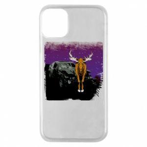 Etui na iPhone 11 Pro Car crashed into a moose