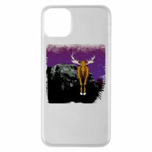 Etui na iPhone 11 Pro Max Car crashed into a moose