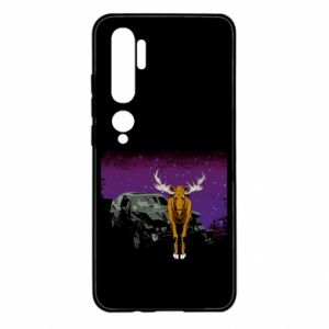 Xiaomi Mi Note 10 Case Car crashed into a moose