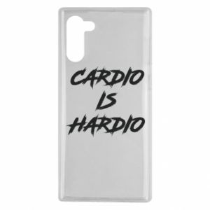 Samsung Note 10 Case Cardio is hardio