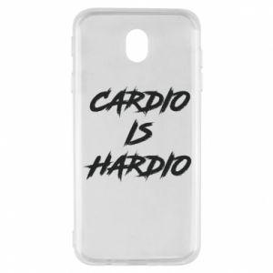 Samsung J7 2017 Case Cardio is hardio