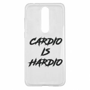 Nokia 5.1 Plus Case Cardio is hardio