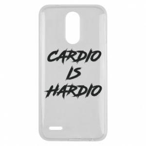 Lg K10 2017 Case Cardio is hardio