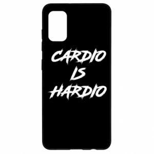 Samsung A41 Case Cardio is hardio