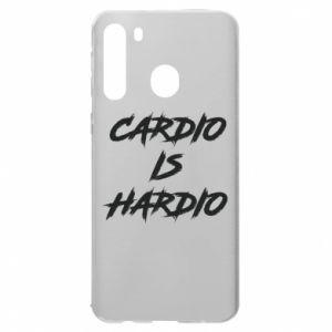 Samsung A21 Case Cardio is hardio