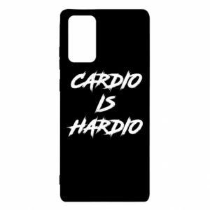Samsung Note 20 Case Cardio is hardio