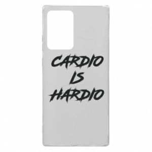Samsung Note 20 Ultra Case Cardio is hardio