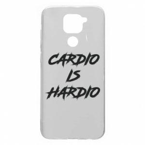 Xiaomi Redmi Note 9 / Redmi 10X case % print% Cardio is hardio