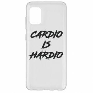 Samsung A31 Case Cardio is hardio