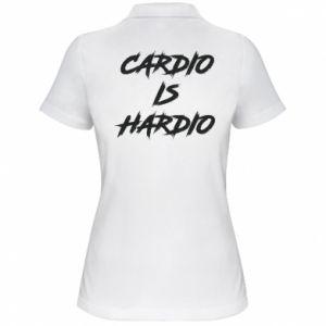 Women's Polo shirt Cardio is hardio