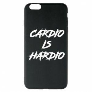 iPhone 6 Plus/6S Plus Case Cardio is hardio