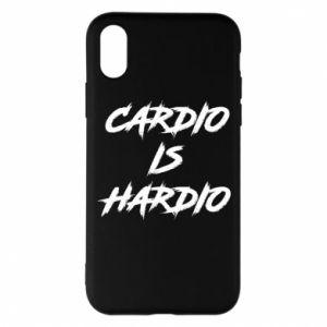 iPhone X/Xs Case Cardio is hardio
