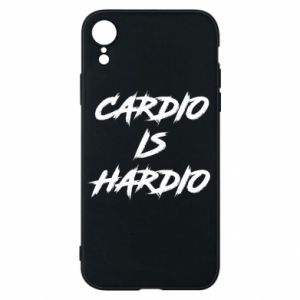 iPhone XR Case Cardio is hardio