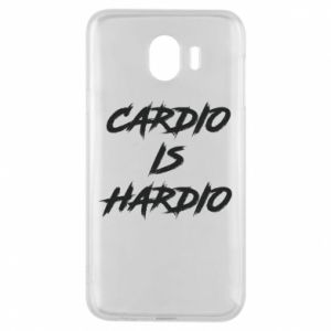 Samsung J4 Case Cardio is hardio