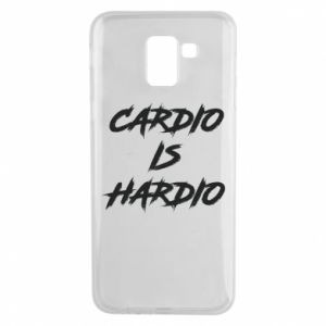 Samsung J6 Case Cardio is hardio
