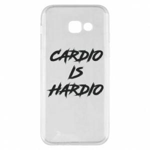 Samsung A5 2017 Case Cardio is hardio