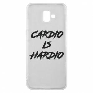 Samsung J6 Plus 2018 Case Cardio is hardio