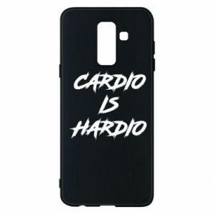 Samsung A6+ 2018 Case Cardio is hardio