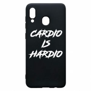 Samsung A20 Case Cardio is hardio
