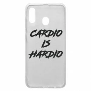 Samsung A30 Case Cardio is hardio