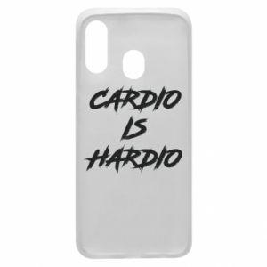 Samsung A40 Case Cardio is hardio
