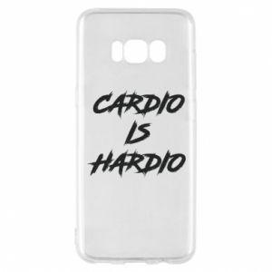 Samsung S8 Case Cardio is hardio