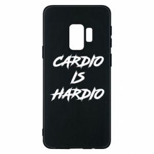 Samsung S9 Case Cardio is hardio