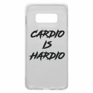 Samsung S10e Case Cardio is hardio