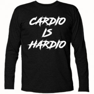 Koszulka z długim rękawem Cardio is hardio