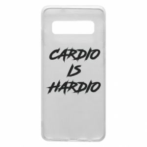 Samsung S10 Case Cardio is hardio