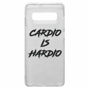 Samsung S10+ Case Cardio is hardio