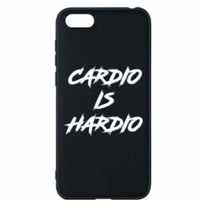 Huawei Y5 2018 Case Cardio is hardio