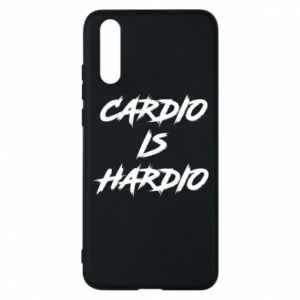 Huawei P20 Case Cardio is hardio